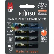 Аккумуляторы Fujitsu AA 2450 mAh 4шт